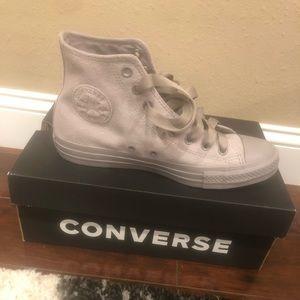 Mercury Grey Converse